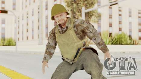 MGSV The Phantom Pain Soviet Union VH Sleeve v2 para GTA San Andreas