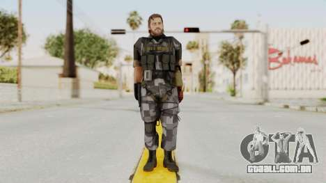 MGSV The Phantom Pain Venom Snake No Eyepatch v7 para GTA San Andreas segunda tela