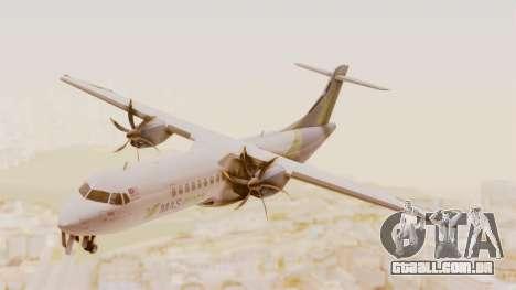 ATR 72-500 MASwings para GTA San Andreas traseira esquerda vista