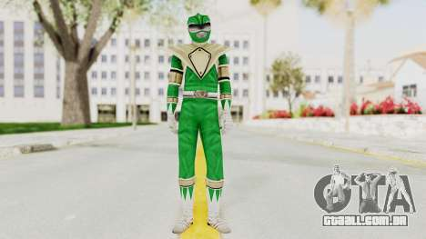 Mighty Morphin Power Rangers - Green para GTA San Andreas segunda tela