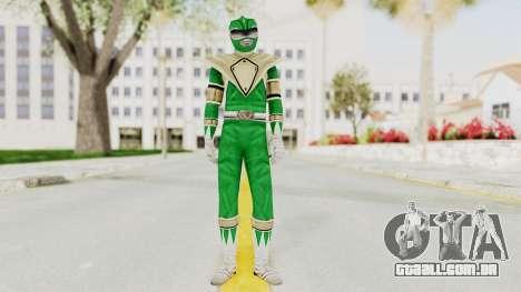 Mighty Morphin Power Rangers - Green para GTA San Andreas segunda tela