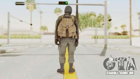 COD Black Ops Russian Spetznaz v1 para GTA San Andreas terceira tela