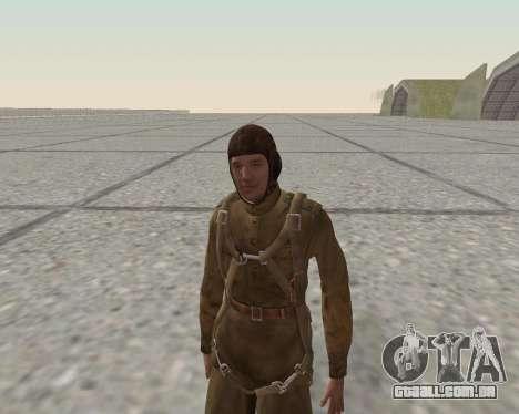 Pak combatentes do exército vermelho para GTA San Andreas twelth tela