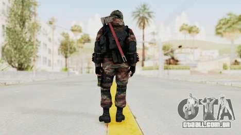 Battery Online Russian Soldier 5 v1 para GTA San Andreas terceira tela