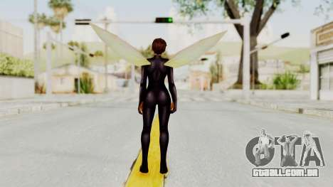 Marvel Future Fight - Wasp para GTA San Andreas terceira tela