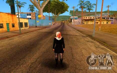 Iranian Girl para GTA San Andreas por diante tela