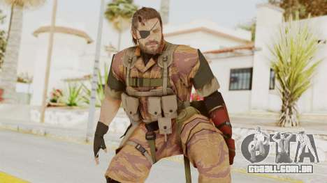 MGSV The Phantom Pain Venom Snake Golden Tiger para GTA San Andreas
