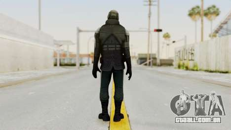 Half Life 2 - Metrocop Remake para GTA San Andreas terceira tela