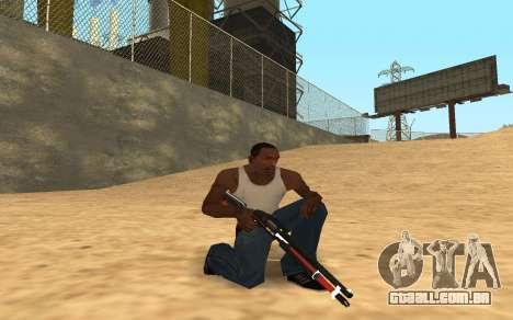 Shotgun Cyrex para GTA San Andreas terceira tela