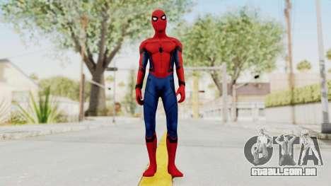 Captain America Civil War - Spider-Man para GTA San Andreas segunda tela