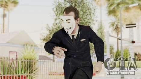 COD BO Nixon Anonymous para GTA San Andreas