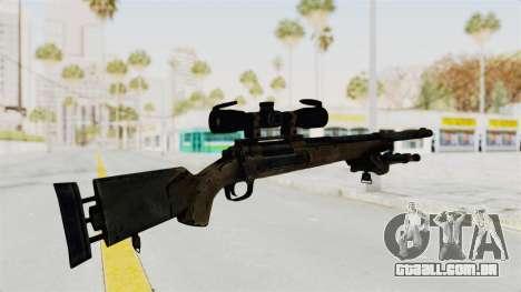 M24 Sniper Ghost Warrior para GTA San Andreas terceira tela