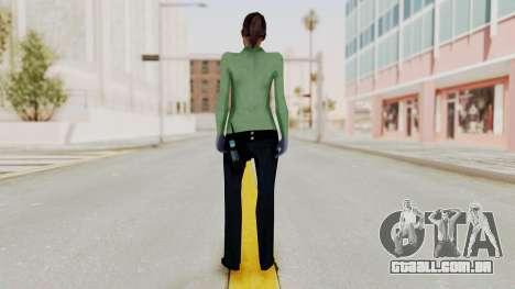 Female Medic Skin para GTA San Andreas terceira tela