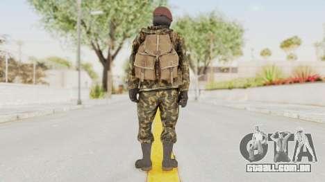 COD Black Ops Russian Spetznaz v4 para GTA San Andreas terceira tela