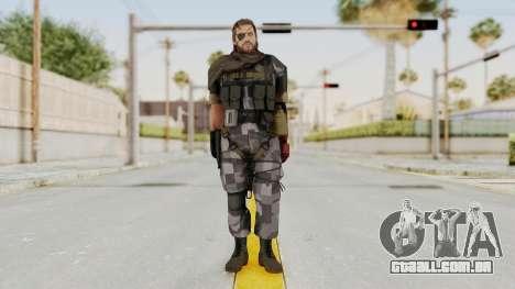 MGSV The Phantom Pain Venom Snake Scarf v7 para GTA San Andreas segunda tela