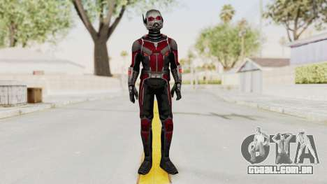 Captain America Civil War - Ant-Man para GTA San Andreas segunda tela