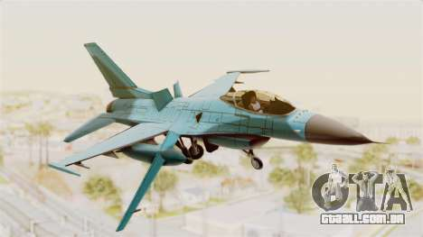 F-16 Fighting Falcon Civilian para GTA San Andreas
