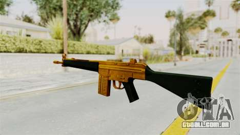 G3A3 Gold para GTA San Andreas segunda tela