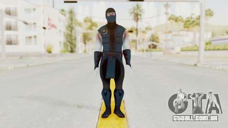 Mortal Kombat X Klassic Sub Zero v2 para GTA San Andreas segunda tela