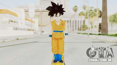 Dragon Ball Xenoverse Gohan Teen DBS SJ v2 para GTA San Andreas segunda tela