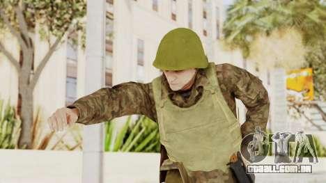 MGSV The Phantom Pain Soviet Union VH Sleeve v1 para GTA San Andreas