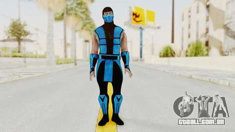 Mortal Kombat X Klassic Sub Zero UMK3 v1 para GTA San Andreas segunda tela