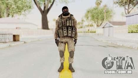 COD MW2 Shadow Company Soldier 3 para GTA San Andreas segunda tela