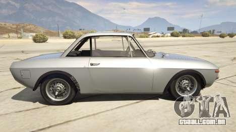 GTA 5 Lancia Fulvia vista lateral esquerda