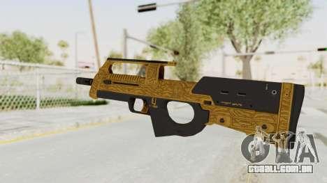 Assault SMG Lux para GTA San Andreas segunda tela