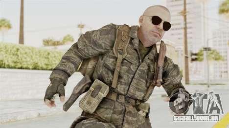 COD BO SOG Hudson v1 para GTA San Andreas