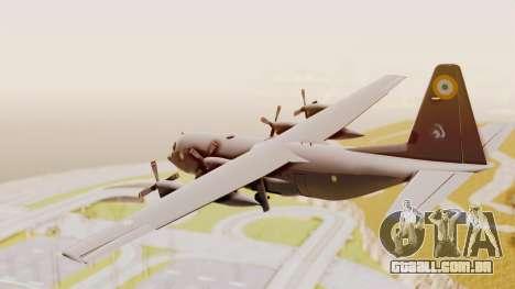 C130 Hercules Indian Air Force para GTA San Andreas vista direita