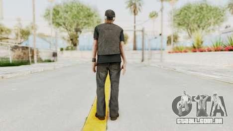 Alan Wake - Tor Anderson para GTA San Andreas terceira tela