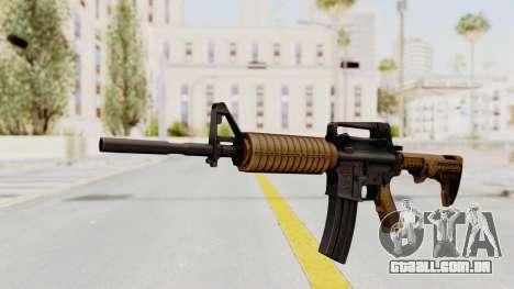 HD M4 v2 para GTA San Andreas