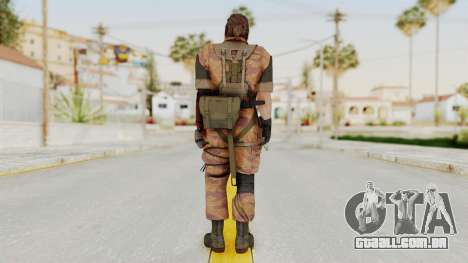 MGSV The Phantom Pain Venom Snake Golden Tiger para GTA San Andreas terceira tela