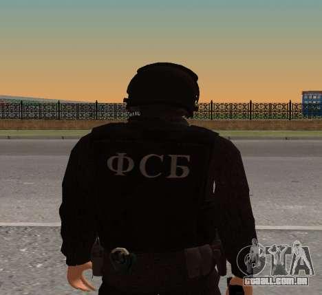 FSB alfa v1 para GTA San Andreas segunda tela