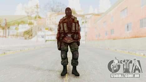 Battery Online Russian Soldier 8 v2 para GTA San Andreas segunda tela