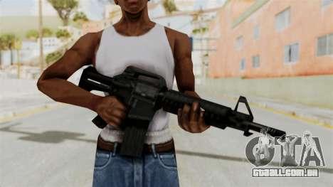 Liberty City Stories M4 para GTA San Andreas