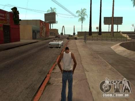 ANTI TLLT para GTA San Andreas por diante tela