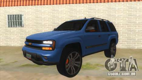 Chevrolet TrailBlazer para GTA San Andreas