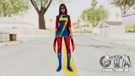 Marvel Future Fight - Kamala Khan para GTA San Andreas segunda tela