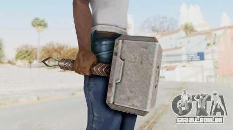 Marvel Future Fight - Mjolnir para GTA San Andreas