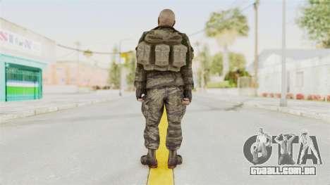COD BO SOG Hudson v1 para GTA San Andreas terceira tela