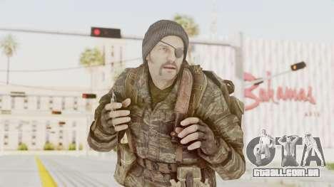 COD BO SOG Grigori Weaver para GTA San Andreas