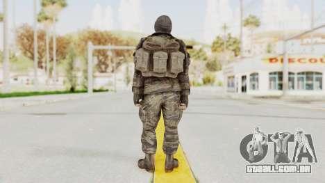 COD BO SOG Grigori Weaver para GTA San Andreas terceira tela