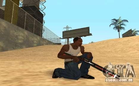 Shotgun Cyrex para GTA San Andreas quinto tela