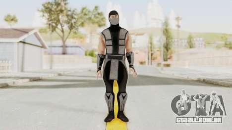 Mortal Kombat X Klassic Human Smoke para GTA San Andreas segunda tela