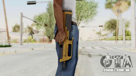 Assault SMG Lux para GTA San Andreas terceira tela