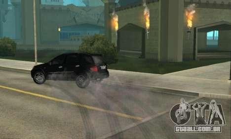 Mercedes-Benz ML 63 AMG para GTA San Andreas vista interior