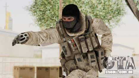 COD MW2 Shadow Company Soldier 3 para GTA San Andreas