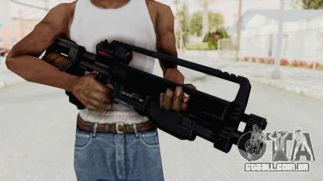 StA-52 Assault Rifle para GTA San Andreas terceira tela